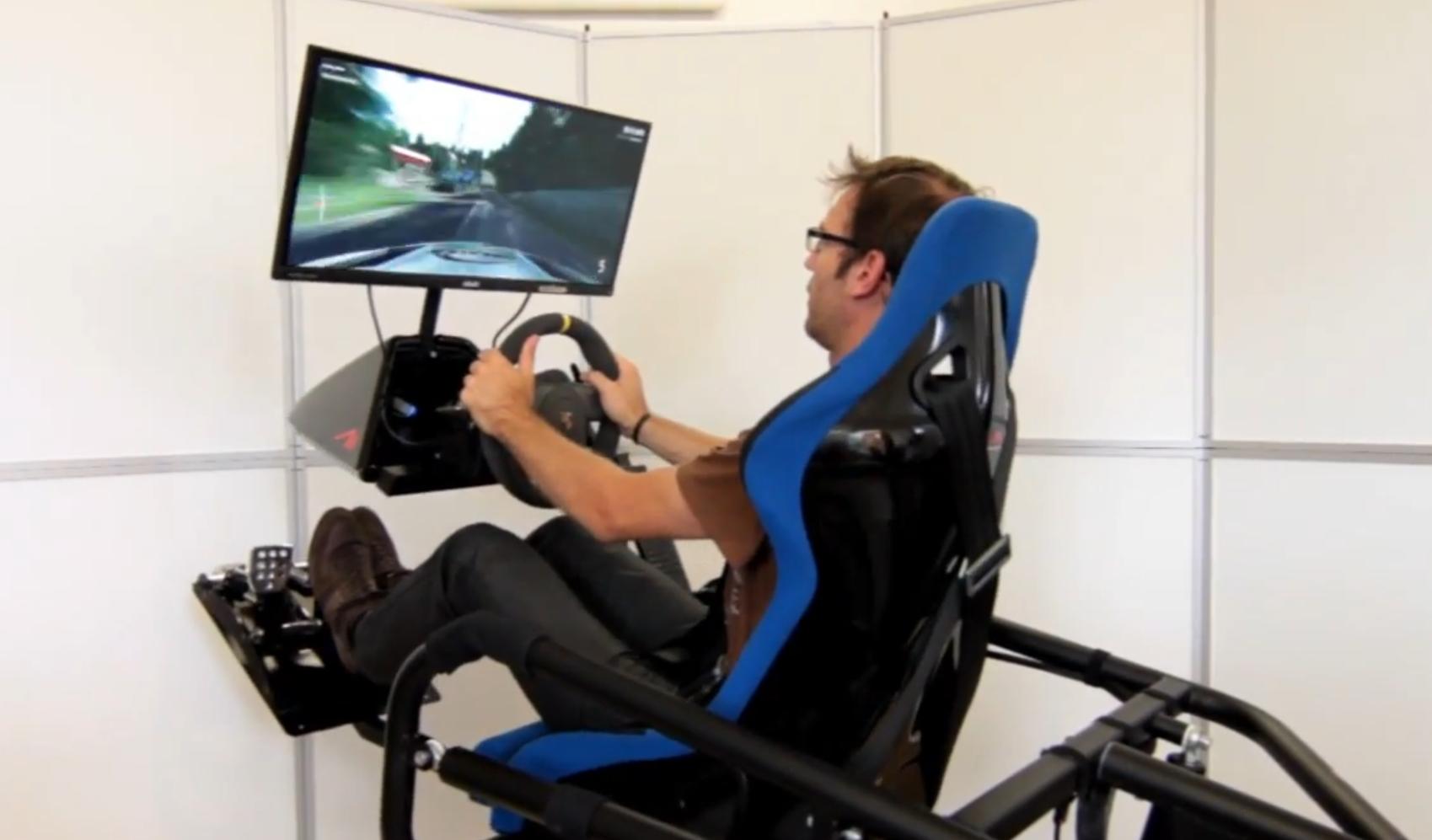 VR RACE SIMULATOR   RALLYE - DTM - F1