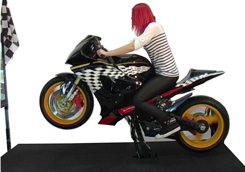 MOTORBIKE SIMULATOR GT PERFORMANCE SERIES